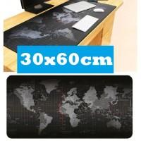 Mousepad Professional Gaming Mouse Pad XL 30 x 60 cm Atlas Peta Dunia