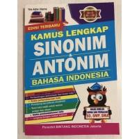 SH-1144 Kamus Lengkap Sinonim dan Antonim Bahasa Indonesia