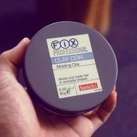 HAIR WAX FIX PROFESSIONAL CLAY DOH MOLDING POMADE ORIGINAL IMPOR 80G