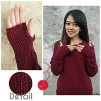 Fashion Wanita Roundhand Sweater