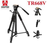 Digipod TR 688 V Lightweight Video Tripod DSLR - TRIPOD CAMCORDER