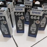 TINTA BOTOL EPSON 664 (L100) BLACK ORIGINAL