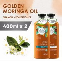 Herbal Essences Golden Moringa Oil Shampoo and Conditioner 400ml