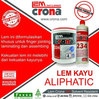 Lem Crona 234 SR Lem Kayu *BEST SELLER ALIPHATIC WOOD GLUE (4 KG)