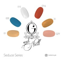 PROMO !!! Madame Gie Nail Shell Peel Off 1 set (isi 6 botol)
