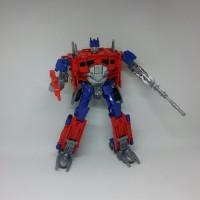 Mainan Super Deformed Figure Transformers- Weijiang Optimus Prime