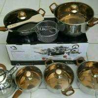 OXONE Panci/Eco Cookware Set 12+2 OX-933