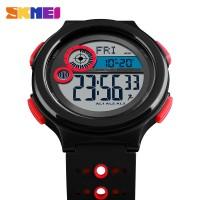 Skmei Men Sport Watch Kompas jarak tempuh kalori pedometer Countdown