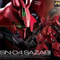 RG Gundam Sazabi 1/144 Bandai
