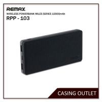 Remax Powerbank Wireless Miles series RPP-103 Original - Hitam