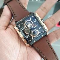 Jam Tangan Pria EXPEDITION E 6757 New original black brown rosegold