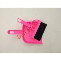 Sapu Pengki Mini set Pink / Mini DuStpan / Mini Broom