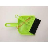 Sapu Pengki Mini set hijau/ Mini DuStpan / Mini Broom
