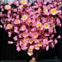 Bunga Sakura Plastik/Bunga Plastik/Bunga Artificial/Bunga Sakura -