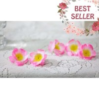 Bunga Artificial Kuntum Kelopak Petal Petals Sakura A4