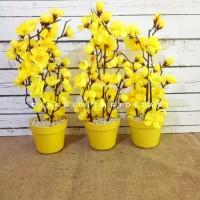 Bunga Plastik Artificial Sakura Palsu Dekorasi Rumah