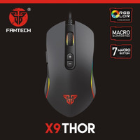 Fantech Gaming Mouse X9 THOR 4800 DPI Standard Macro Cable