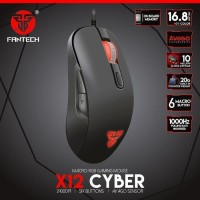 Fantech Gaming Mouse X12 CYBER 2400 DPI Macro Cable