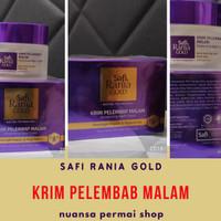 Safi Krim Pelembab Malam *ORIGINAL Malaysia* Safi Rania Gold