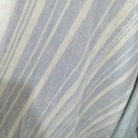kain linen/bahan tunik, gamis, dress linen motif salur