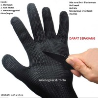 Sarung Tangan Survival Gloves Anti Senjata Tajam Begal Bacok Tactical