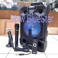 Speaker Portable Meeting Wireless Noise 899 J/899J - 8 inch Bluetooth