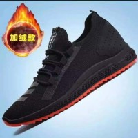 Sneaker Sepatu Slip On Olahraga Sekolah Lari Cowok Import Original