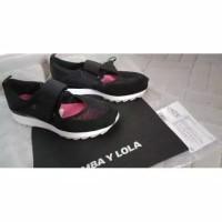 Bimba sneakers technical retro black