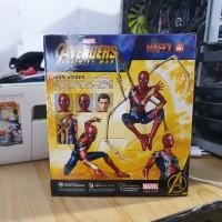 mafex medicom toy avengers iron spider spiderman infinity war msib