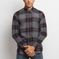 MENTLI Kemeja Flanel Pria - Kane Flannel Shirt