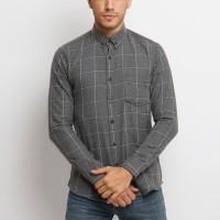 MENTLI Kemeja Flanel Pria - Robby Flannel Shirt