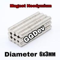 Magnet Neodymium 6x3 mm Super Kuat Rarely magnet