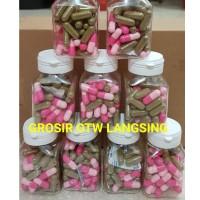 PELANGSING PINKY Booster isi 60 kapsul (30 Pink + 30 Hijau) Grosir