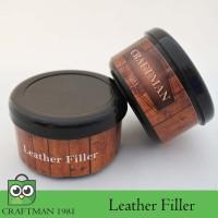 leather filler dempul kulit (leather filler kit)