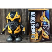 Super Hero Avengers Bumblebee Dance Robot With Music and LED Light
