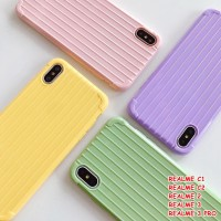 FOR REALME C1, C2, 2, 3, 3 PRO - LUGGAGE TRAVEL KOPER CASE CASING