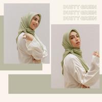 SAVRA BAMBOO HIJAB - DUSTY GREEN