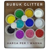Bubuk glitter / glitter powder / serbuk glitter / 10 gram