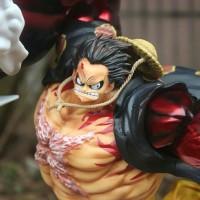 POP XXL Monkey Luffy Gear Fourth Kong Gun Statue Figure