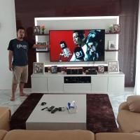 backdop tv / meja tv / buffet tv / kitchen set