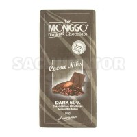 Coklat Cokelat Monggo Mongo 69% Cacao Cocoa Kokoa Nibs Dark Chocolate