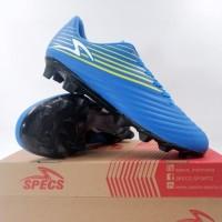 Sepatu Bola Specs Barricada Genoa 19 FG Tulip Blue Solar 100993 Ori