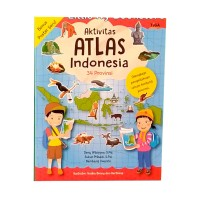 Aktivitas Atlas Indonesia 34 Provinsi. Buku Anak Tiga Ananda