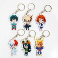 Keychain Boku no Hero Academia / Gantungan Kunci Anime