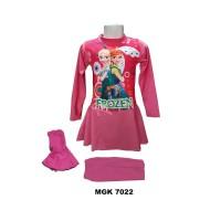 Baju renang muslim anak muslimah SD 6-10 th - M