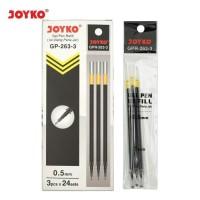 Joyko Isi Pulpen / Gel Pen Refill GPR-263-3 Eceran