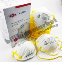 20pcs Masker N95 M-SAFE SUPER QUALITY MALAYSIA