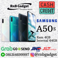 new Samsung A50s (4GB/64GB) SEIN GARANSI RESMI CASH DAN KREDIT