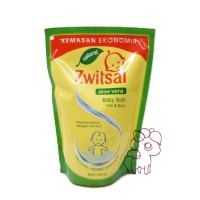 Zwitsal Baby Bath 2in1 Hair and Body Natural Pouch 450ml