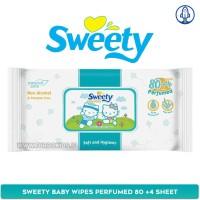 Sweety Baby Wipes Perfumed 80 +4 Sheet